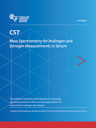 Mass Spectrometry for Androgen and Estrogen Measurements in Serum, 1st Edition