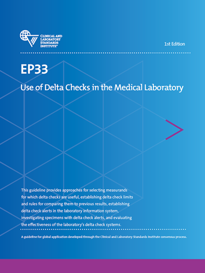 Use of Delta Checks in the Medical Laboratory, 1st Edition