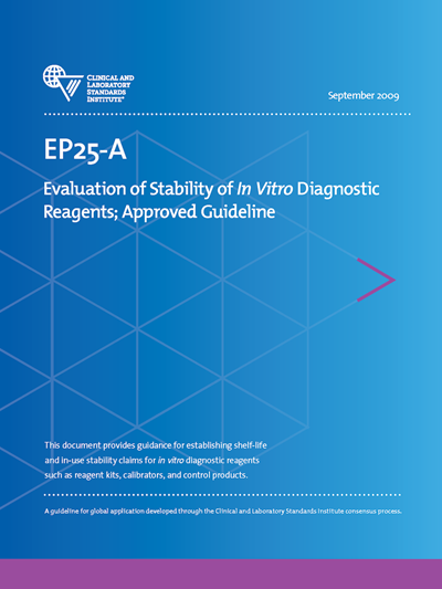 Evaluation of Stability of In Vitro Diagnostic Reagents, 1st Edition