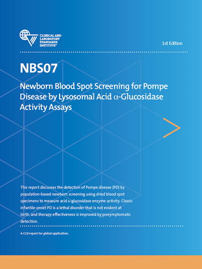 Newborn Blood Spot Screening for Pompe Disease by Lysosomal Acid α-Glucosidase Activity Assays, 1st Edition