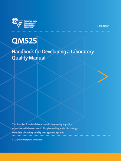 Handbook for Developing a Laboratory Quality Manual, 1st Edition