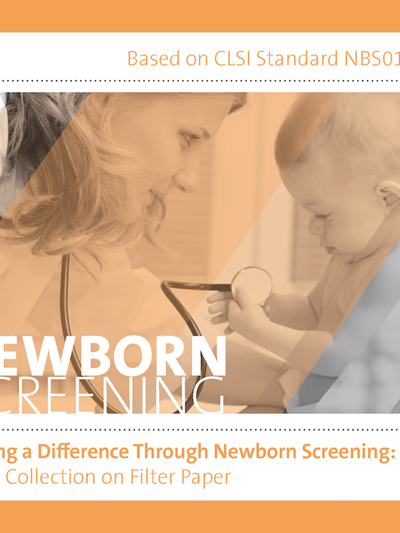 Making a Difference Through Newborn Screening: Blood Collection on Filter Paper