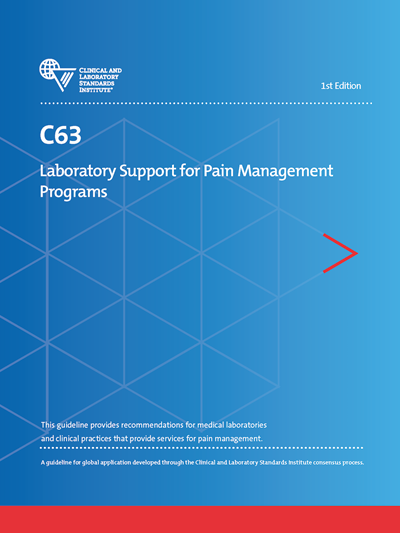 Laboratory Support for Pain Management Programs, 1st Edition