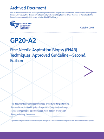 Fine Needle Aspiration Biopsy (FNAB) Techniques, 2nd Edition